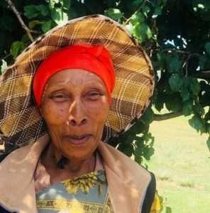 Traditional Basotho woman